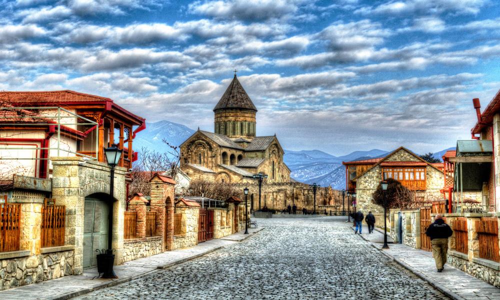 شهر تاریخی متسخا در گرجستان