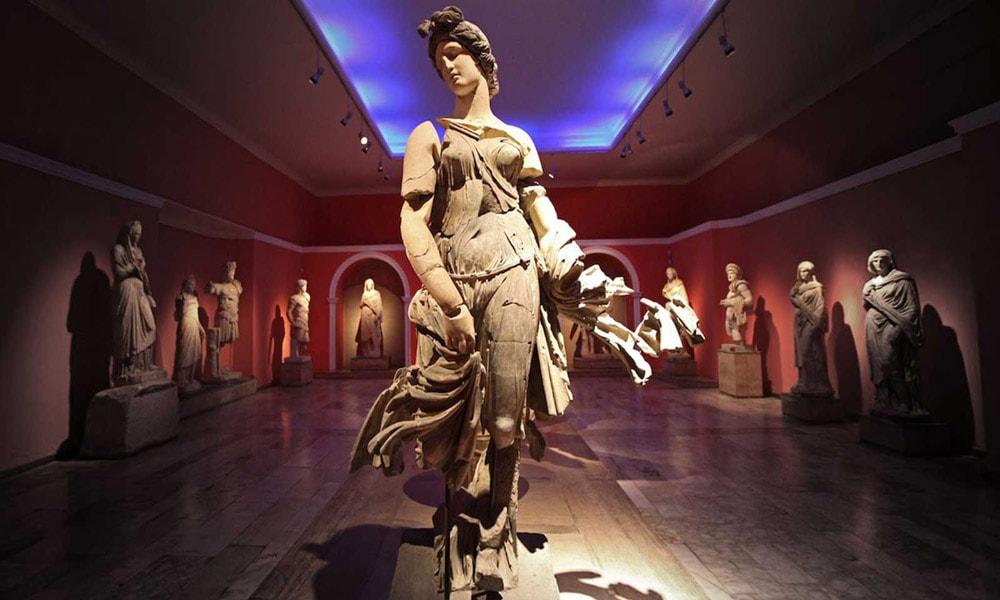 موزه اشیای تاریخی در آنتالیا