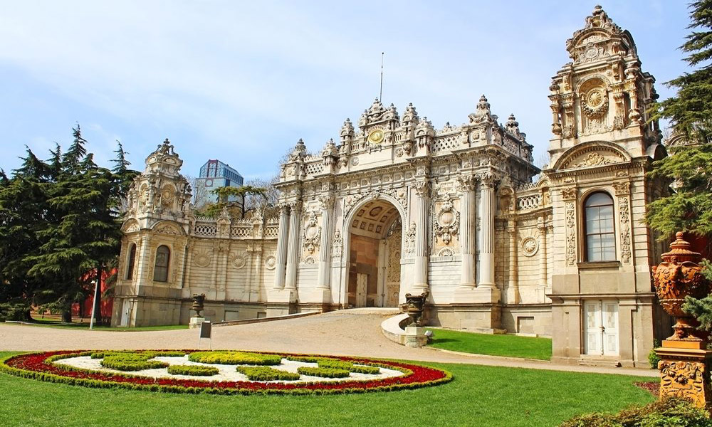 کاخ دلمابچه در شهر استانبول