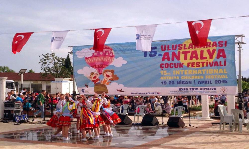 نمونه ای از فستیوال های سالانه در آنتالیا