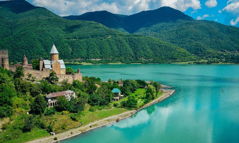 نمایی زیبا از کشور گرجستان
