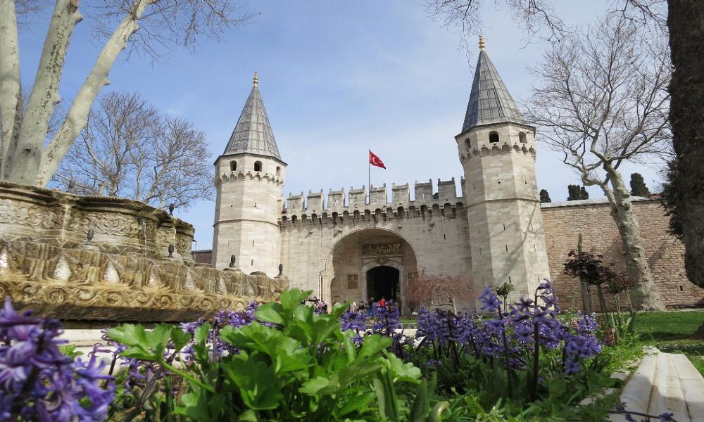 قصر توپکاپی در شهر استانبول
