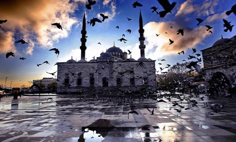 نمایی زیبا از شهر استانبول
