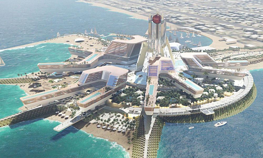شهر زیبای جمیرا در دبی