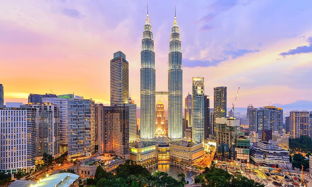 نمایی زیبا از کشور مالزی