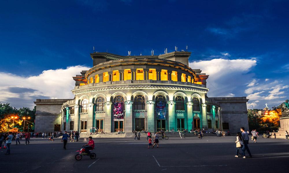 خانه اپرا در شهر ایروان