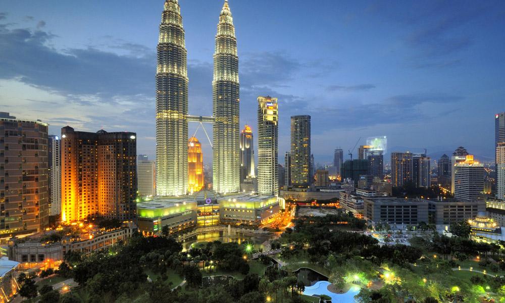 برج های دوقلوی پتروناس در مالزی