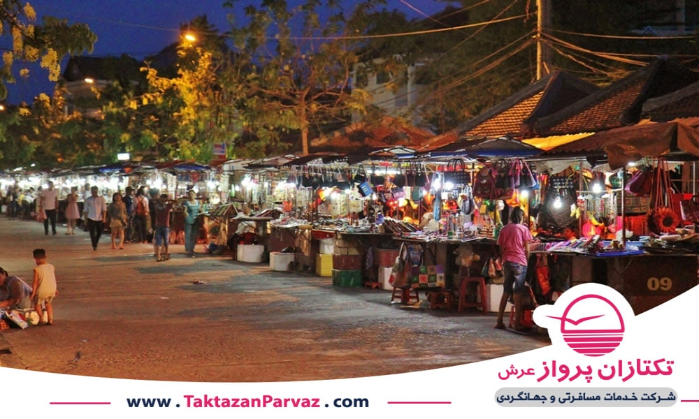 بازارهای شب آخر هفته در هانوی