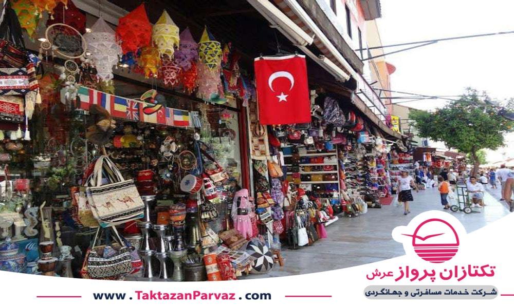 نمونه ای از بازارهای محلی در کوش آداسی