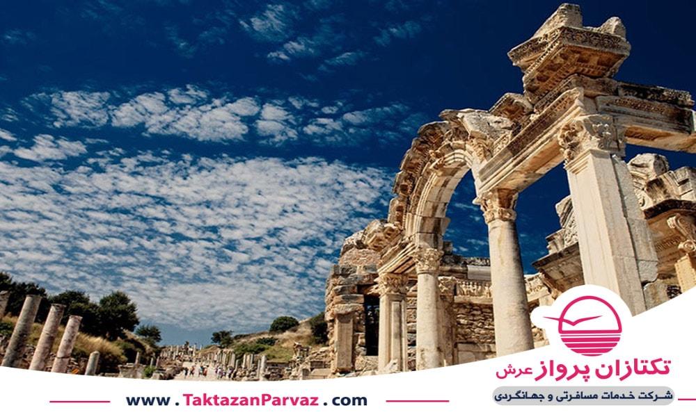 منطقه باستانی افه سوس در کوش آداسی