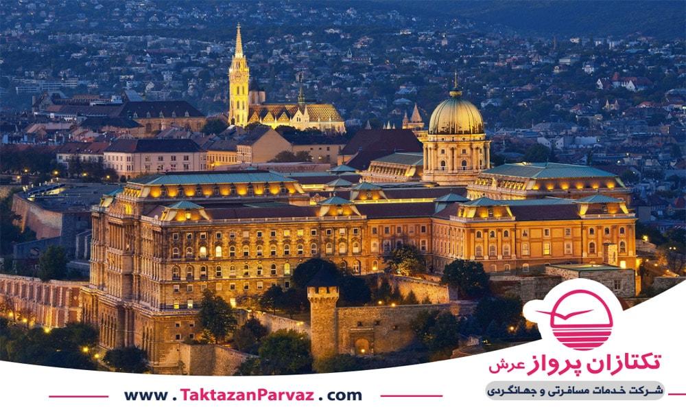 قلعه بزرگ بودا در شهر مجارستان