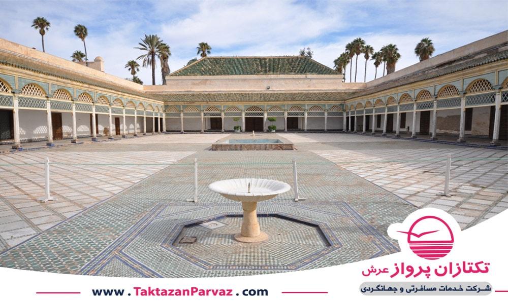 قصر باهیه در مراکش