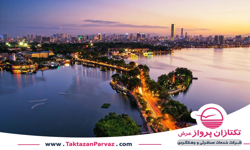 شهر هانوی پایتخت کشور ویتنام