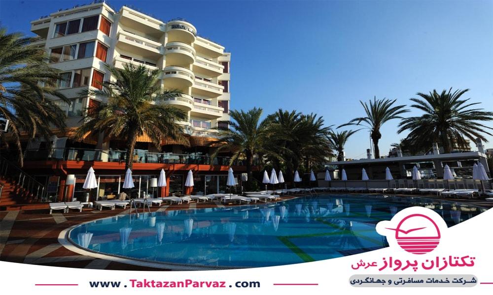 هتل پنج ستاره الگانس اینتر ناسیونال مارماریس