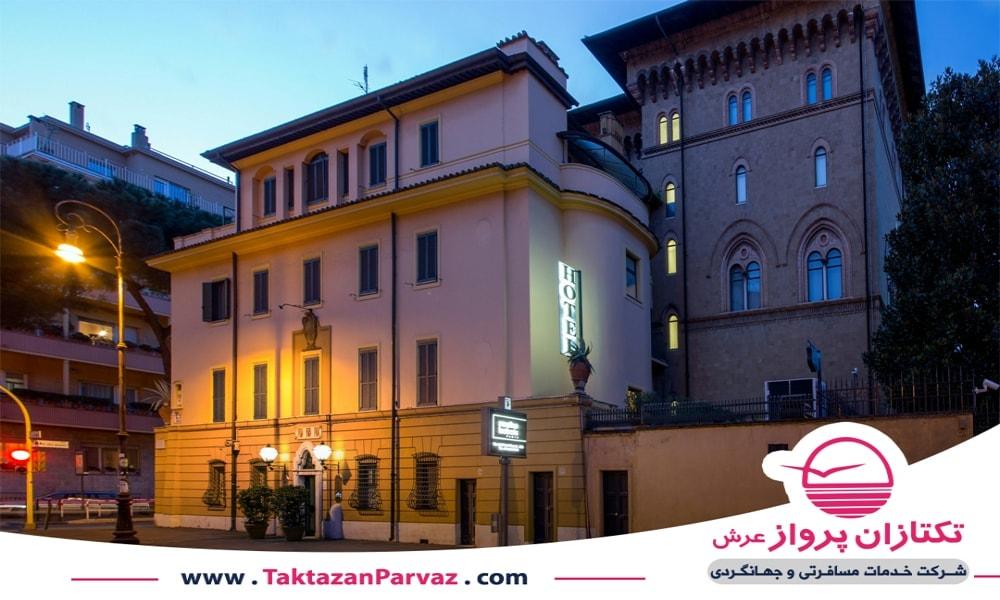 هتل پنج ستاره ویلا گرازبولی در شهر رم