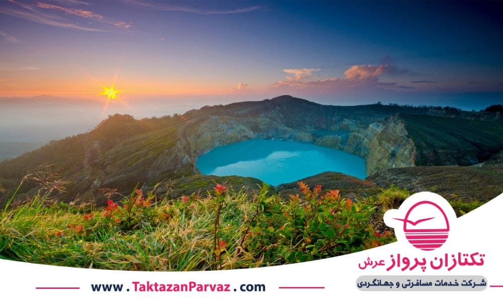 جزیره زیبای فلورس در اندونزی