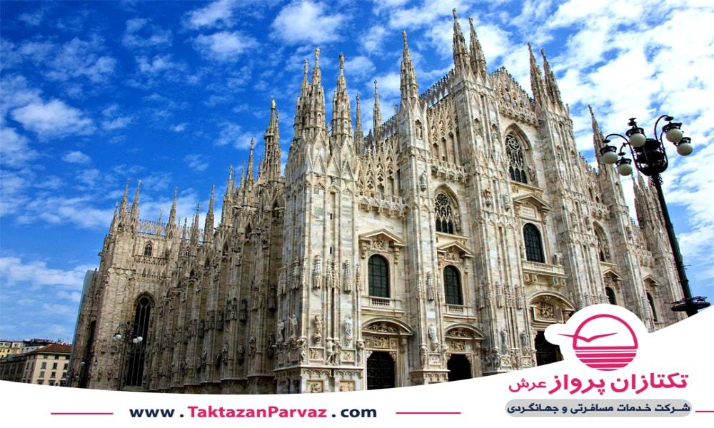 کلیسای جامع میلان در کشور ایتالیا