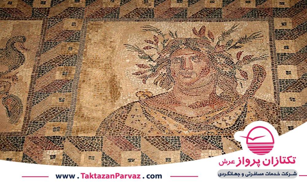 خانه های دیونیسوس در کشور قبرس