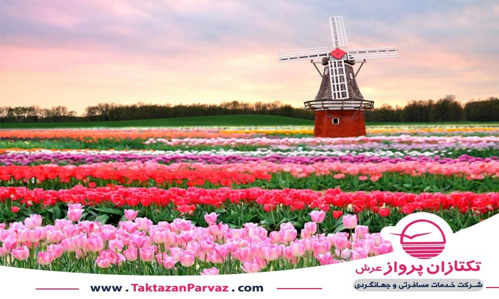 باغ کوکنهوف در کشور هلند