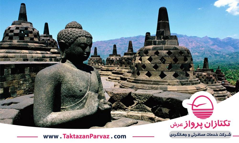 معابد تاریخی ماهایاتا در اندونزی
