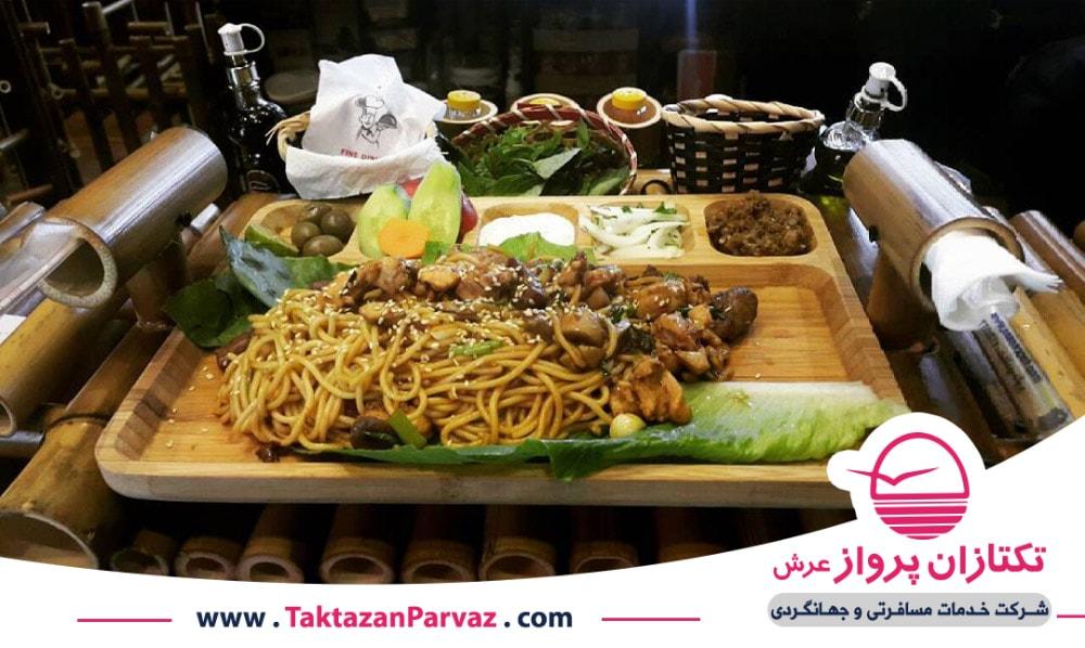 ناسی اودوک از غذاهای اندونزیایی
