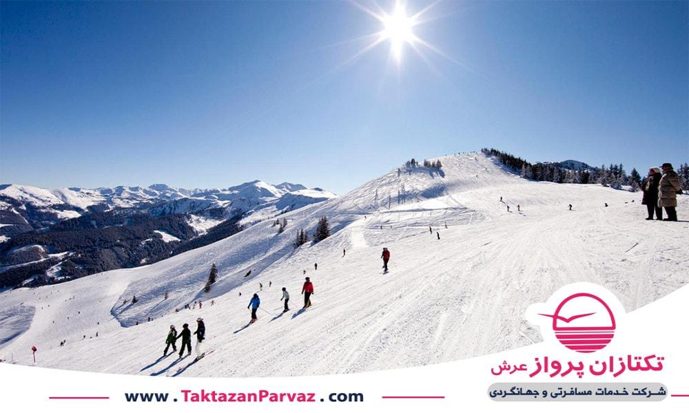 پیست های اسکی کشور اتریش