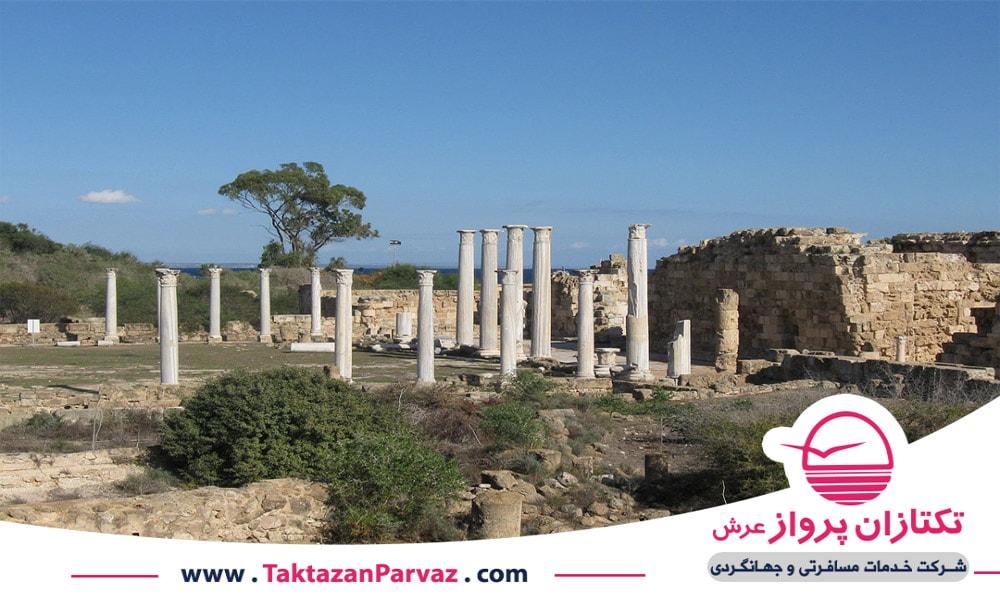 سالامیس باستان از دیدنی های قبرس