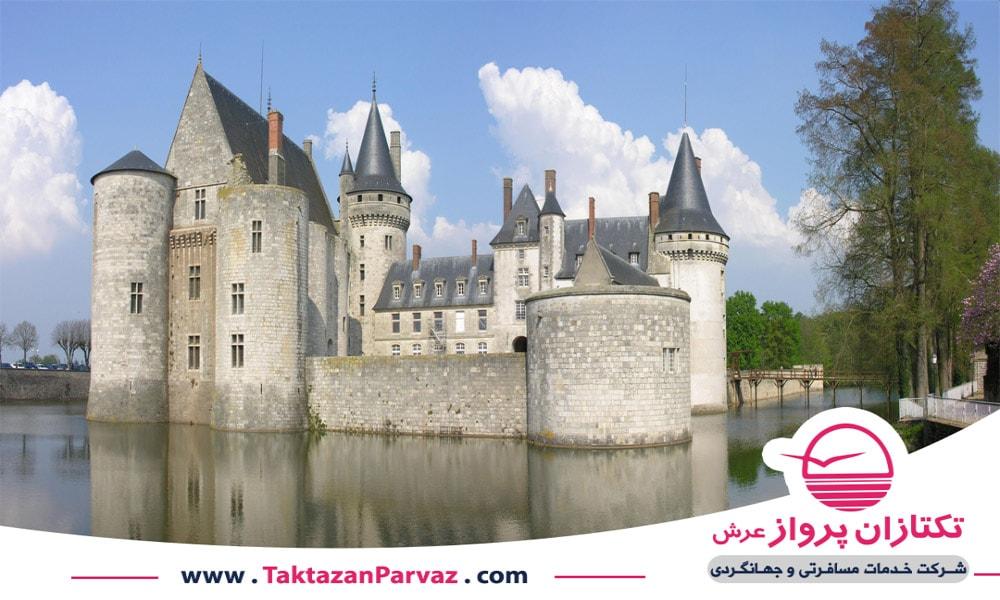 قلعه سالی سل لویر در فرانسه