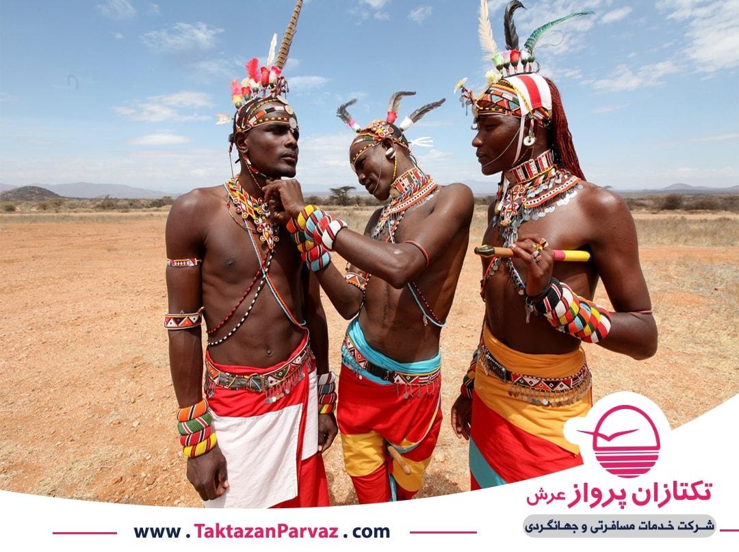 حفاظت شده سامبرو در کنیا
