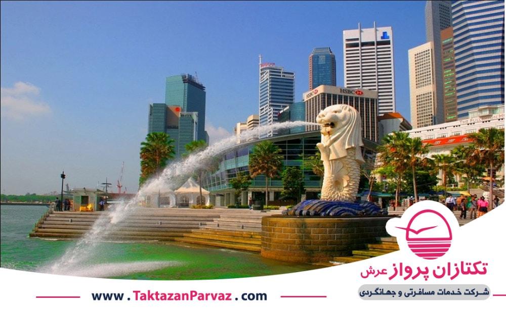 تفریحگاه ساحلی شن های خلیج در سنگاپور