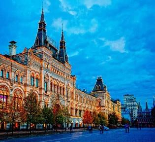 روسیه (مسکو و سن پترزبورگ)